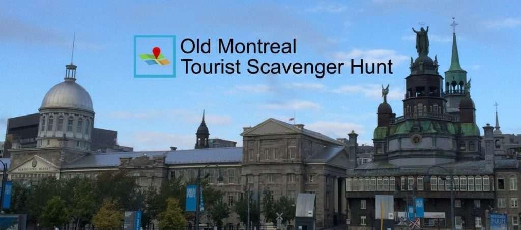 Old Montreal scavenger hunt