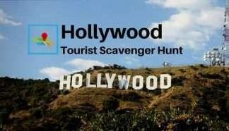 Hollywood Tourist Scavenger Hunt