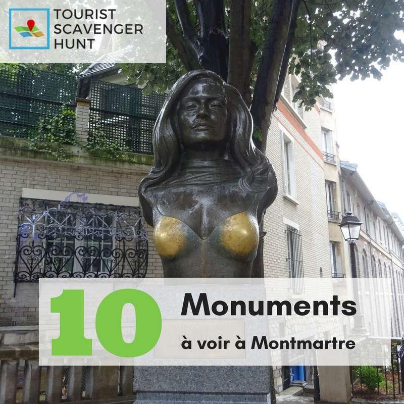 10 monuments a voir a Montmartre