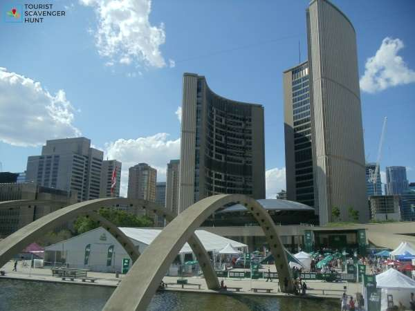Nathan Phillips Square City Hall