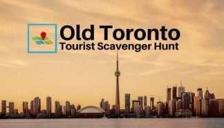Old Toronto tourist scavenger hunt
