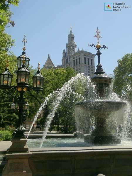 Jacob Wrey Mould Fountain