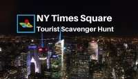 NYC Times Square scavenger hunt