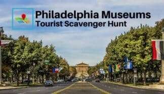philadelphia museums tourist scavenger hunt