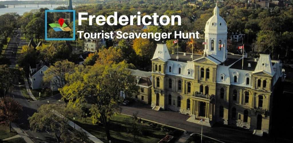 Fredericton tourist scavenger hunt 1200