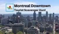 Montreal downtown tourist scavenger hunt