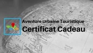 Certificat Cadeau Tourist Scavenger Hunt