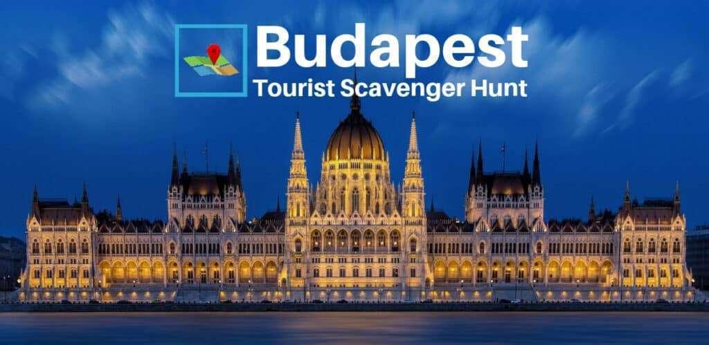 Budapest tourist scavenger hunt