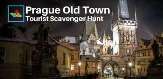 Prague tourist scavenger hunt