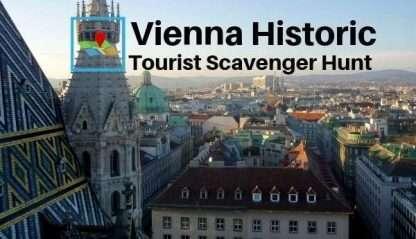 Vienna Historic Center tourist scavenger hunt 600