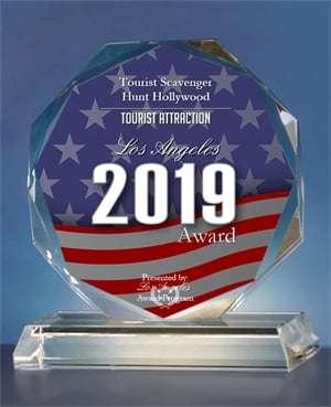 2019 Los Angeles Award - Tourist Attraction