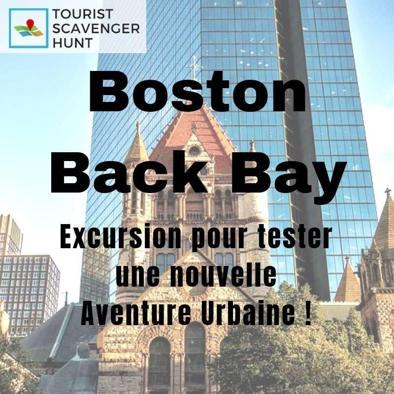 Boston back bay excursion