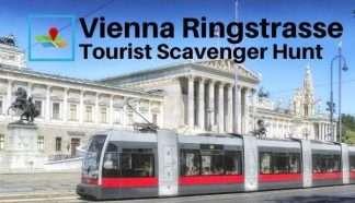 Vienna Ringstrasse tourist scavenger hunt