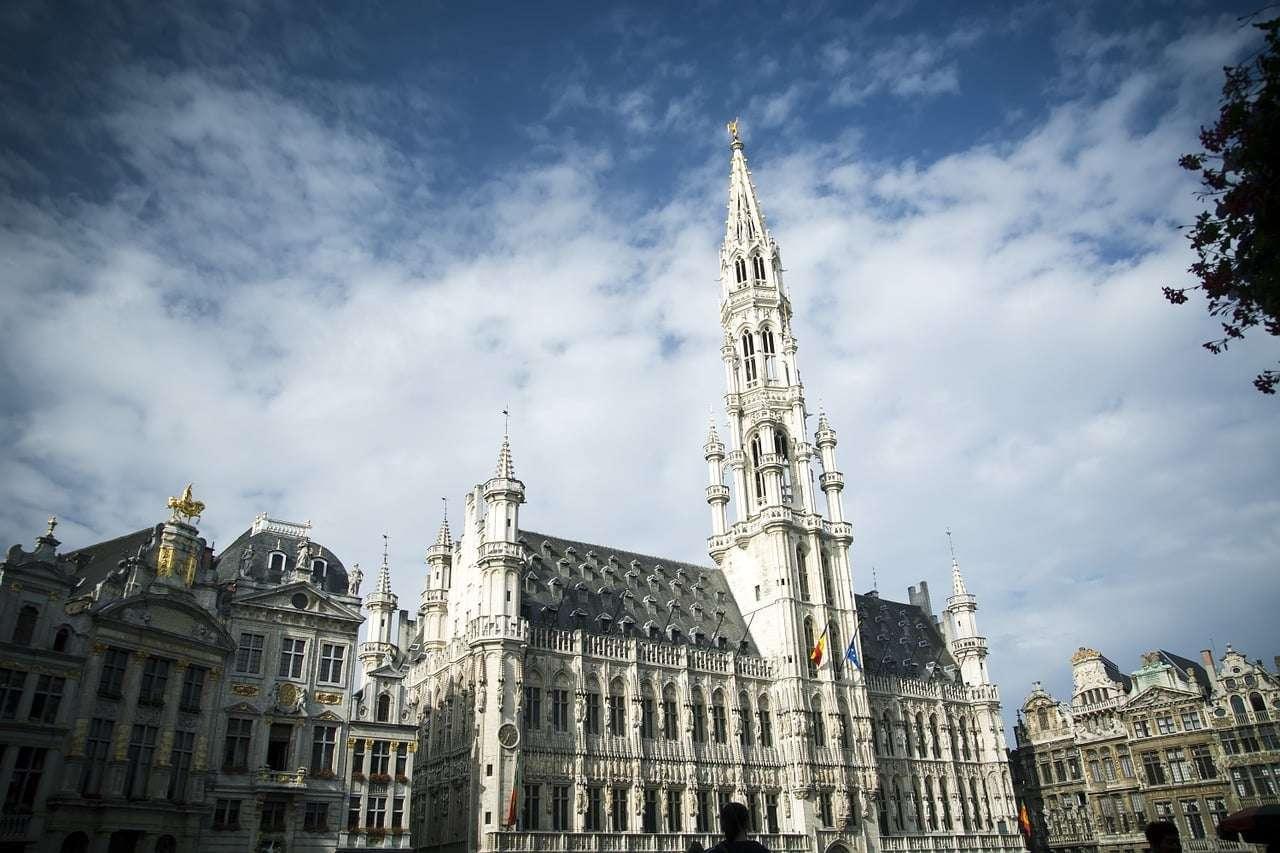 Hôtel de Ville de Bruxelle Brussels City Hall
