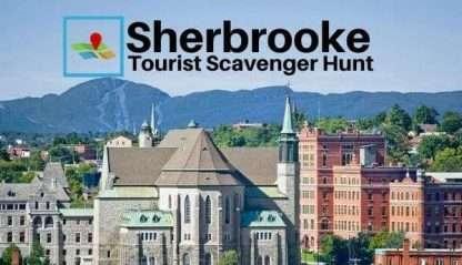 Sherbrooke tourist scavenger hunt