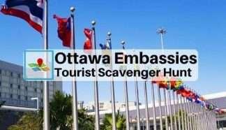 Ottawa Embassies tourist scavenger hunt