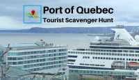 Port of Quebec tourist scavenger hunt