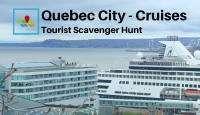 Quebec city cruises tourist scavenger hunt