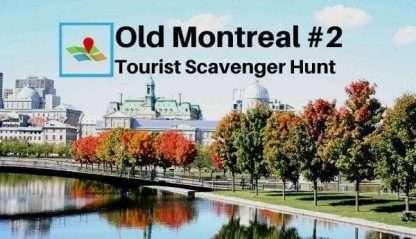 Old Montreal 2 scavenger hunt