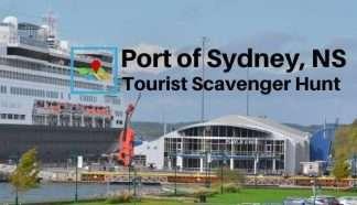Port of Sydney NS tourist scavenger hunt