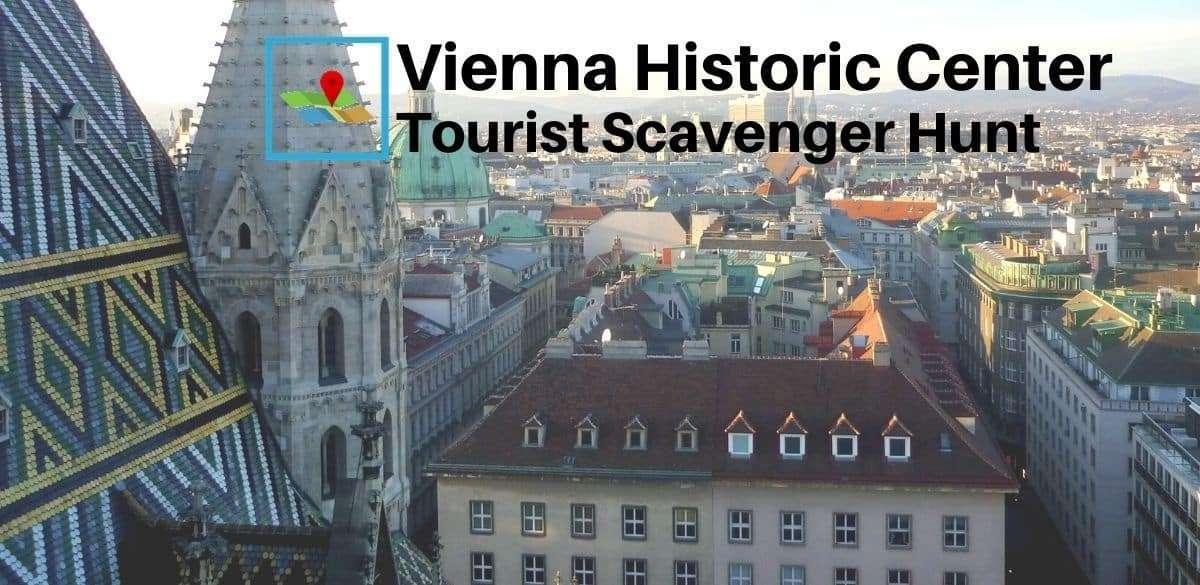 Vienna Historic Center tourist scavenger hunt