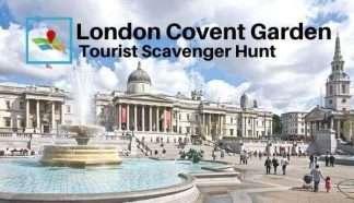 London Covent Garden Tourist Scavenger Hunt