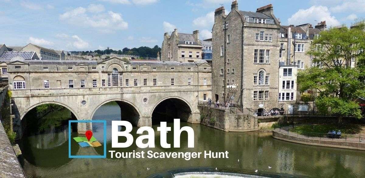 Bath tourist scavenger hunt