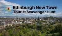 Edinburgh New Town Tourist Scavenger Hunt