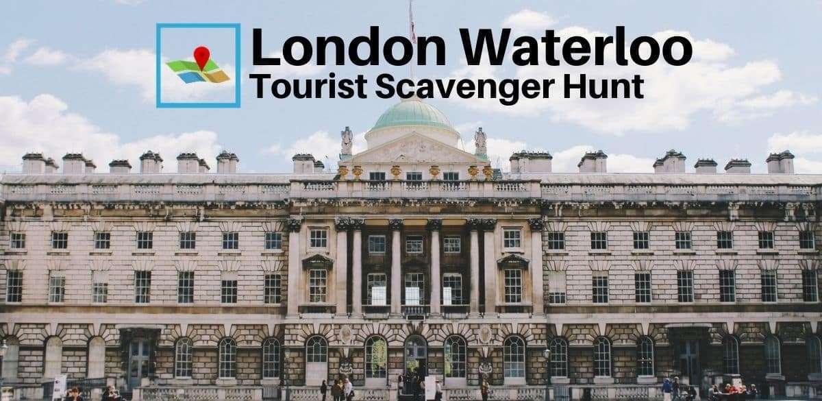 London Waterloo tourist scavenger hunt