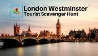 London Westminster Tourist Scavenger hunt