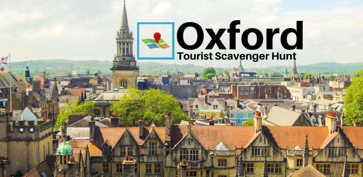 Oxford Tourist Scavenger Hunt